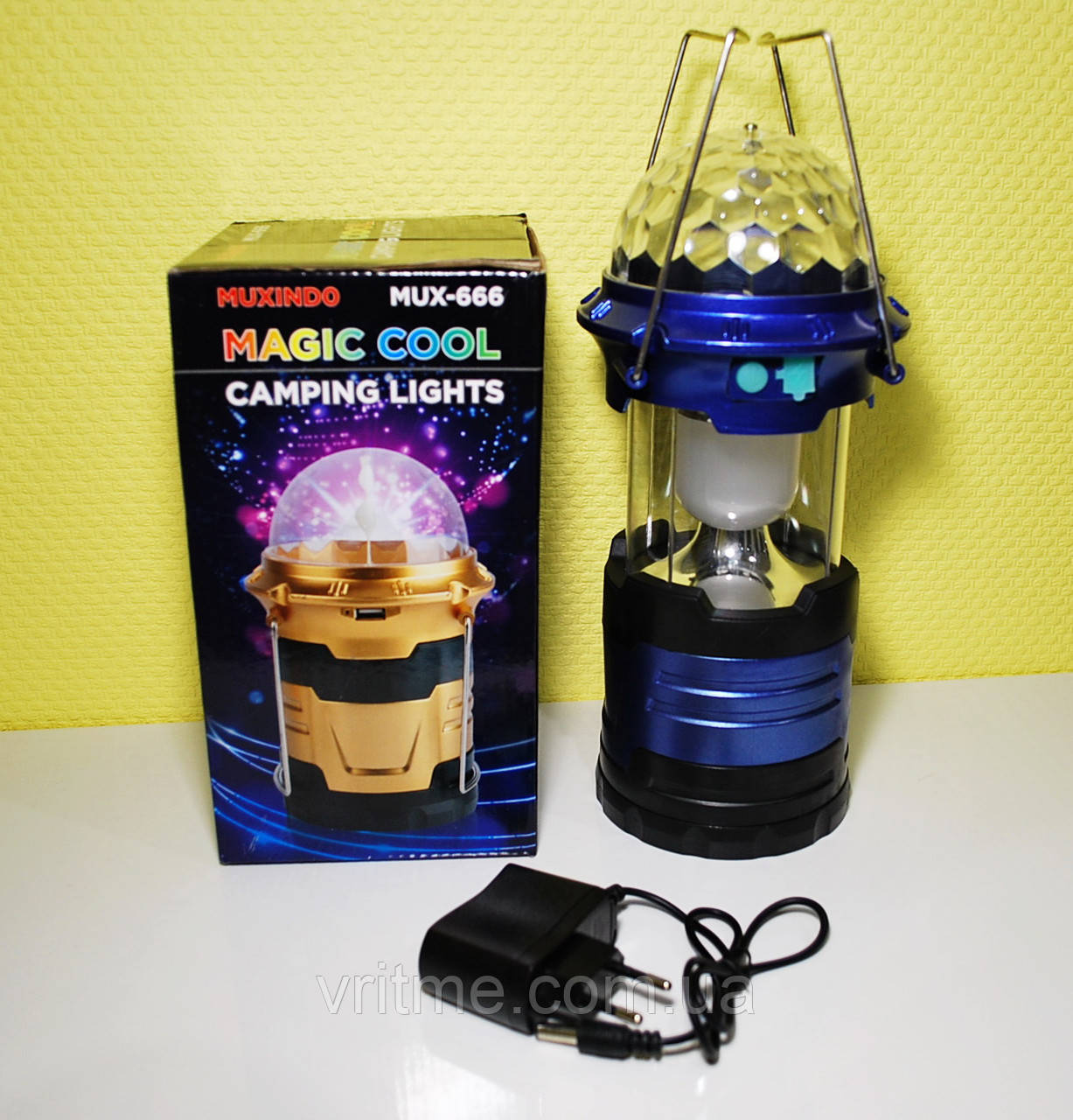 Туристическая лампа - Muxindo Camping Lamp Magic Cool