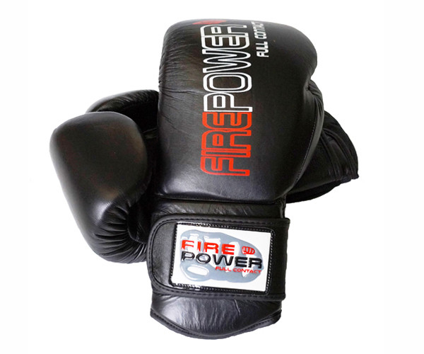 Боксерские перчатки Firepower FPBG4 Черные