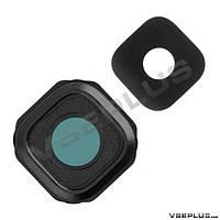 Стекло на камеру Samsung A500F Galaxy A5 / A500H Galaxy A5, черный