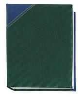 """Датированный ежедневник А5 Мадейра (коллекция """"СТАНДАРТ""""), зелёно-синий, от 100 шт"""