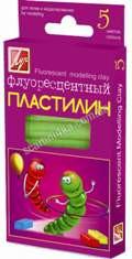 """Пластилин """"Луч""""  5цветов 12с764-08 фл. 64гр"""
