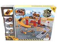 Игровой набор Паркинг-гараж CY 280-1A Строительная площадка
