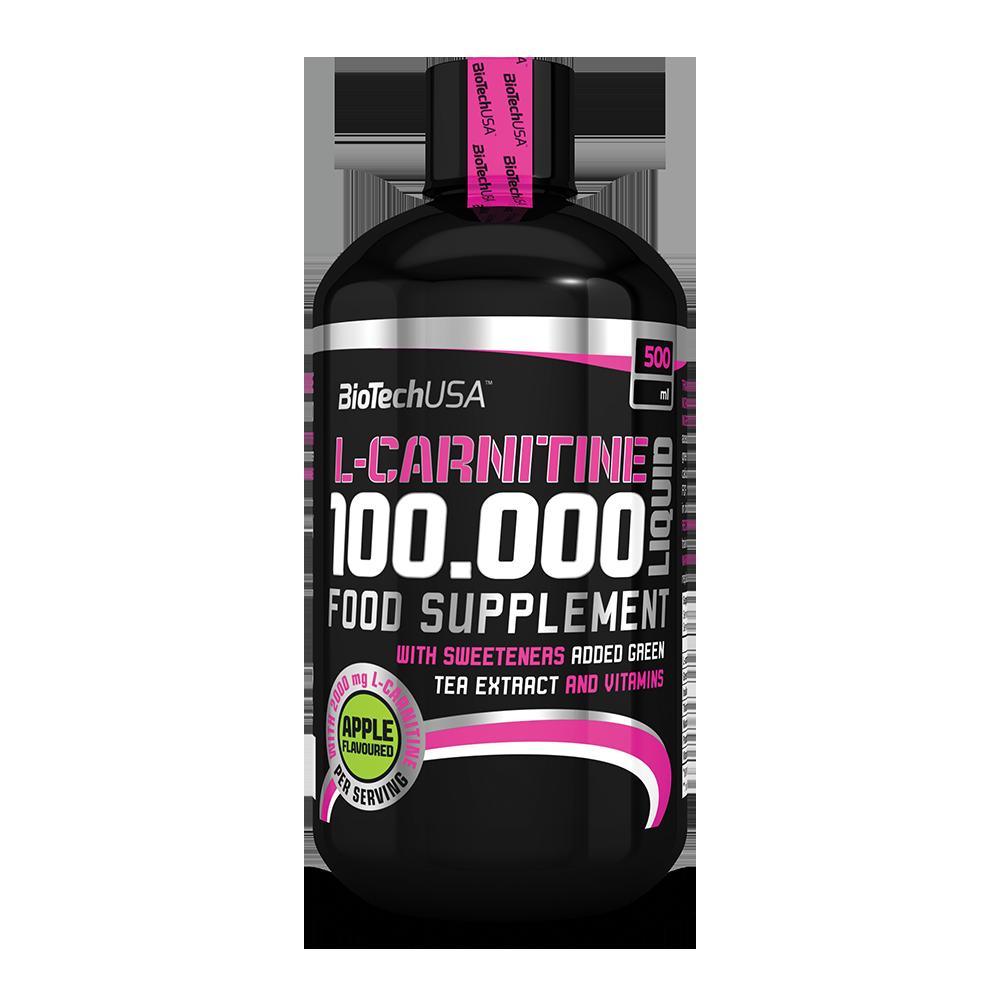 Аминокислота  L-carnitine 100.000 Liquid Biotech USA 500 мл