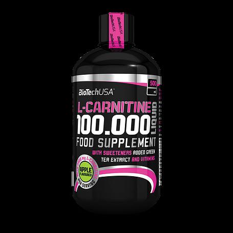 Аминокислота  L-carnitine 100.000 Liquid Biotech USA 500 мл, фото 2