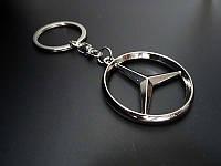 Брелок на ключи с логотипом Mercedes Benz (Мерседес Бенц)