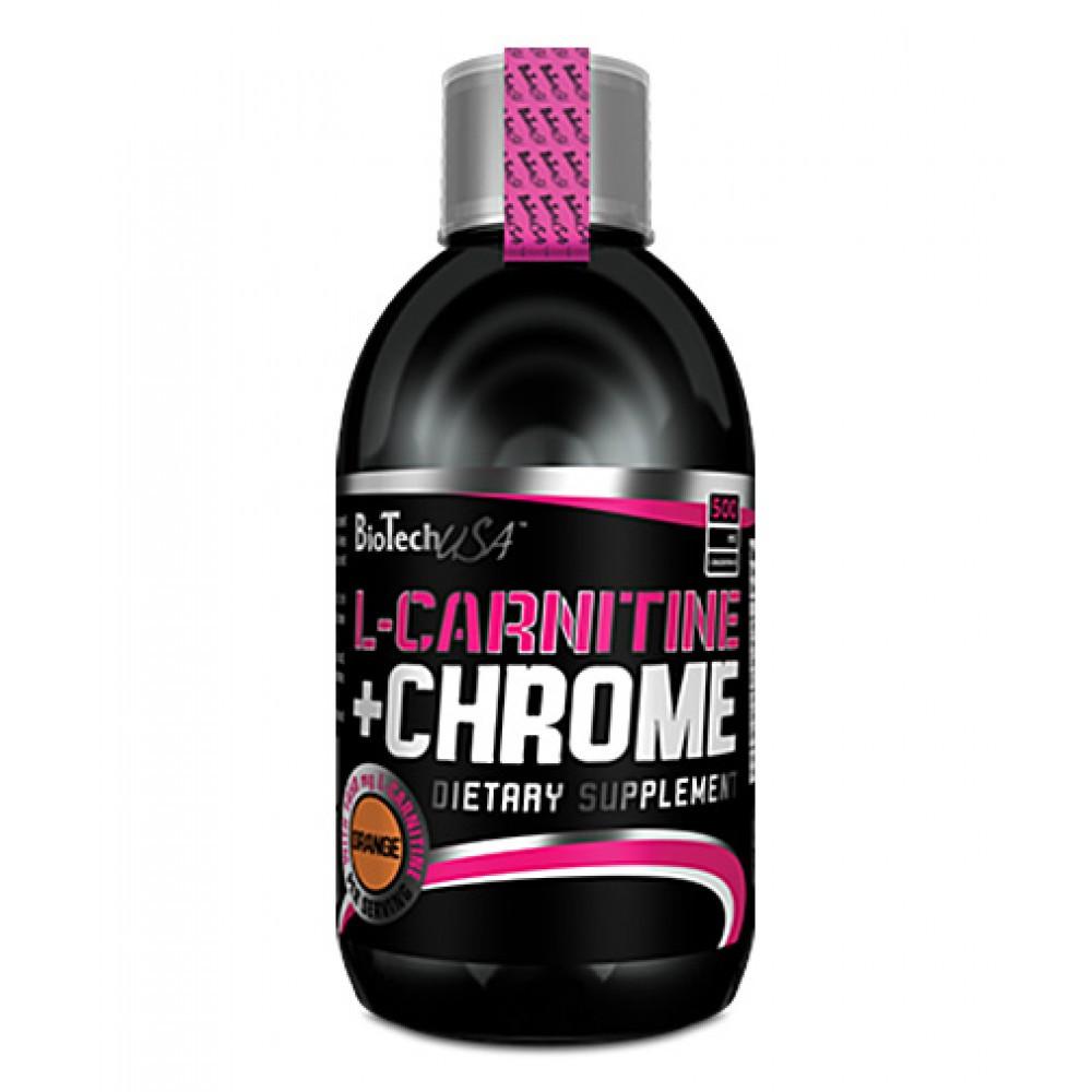 Аминокислота L-Carnitine 35.000+ Chrome BioTech 500 мл - фото 4