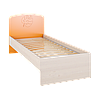 Маугли МДМ-11 оранж кровать без ламелей