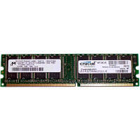 Модуль памяти для компьютера DDR 512MB 400 MHz MICRON (CT6464Z40B)