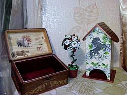 Чайный домик конь со шкатулкой 1