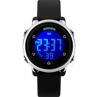 Женские часы Skmei Kraft Black II