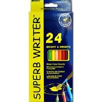Набор акварельных карандашей в картонной коробке Marco 24 цв.