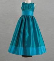 Д-101793 Детские голубые красивые платья на выпускной