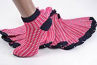 Женские носки заниженые с узором (TKB30/9) | 12 пар
