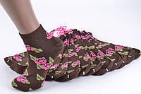 Женские носки заниженые с узором (TKB30/10) | 12 пар