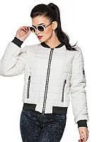 Молодежная женская  куртка Милана  (белый)