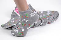 Женские носки заниженые с узором (TKB30/12) | 12 пар
