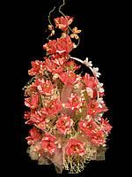Букет из конфет на подарок девушке Ванильная роза