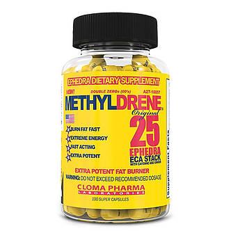 Жиросжигатель  Methyldrene Cloma Pharma  100капс, фото 2