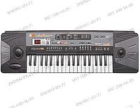 Орган-синтезатор MQ-007 FM, от сети и батареек, 37 клавиш, микрофон, FM-радио, 16 тонов, 10 ритмов, в коробке