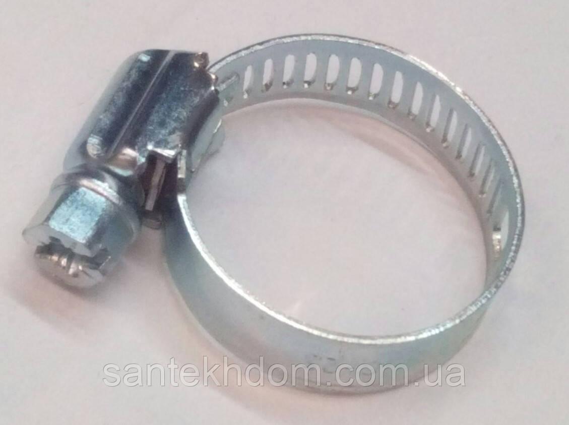 Хомут оцинкованый червячный Tork (19×26).50 шт.
