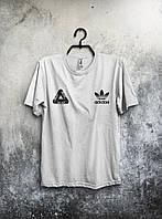Футболка мужская Palace X adidas (Палас, адидас)