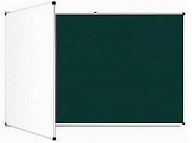Доска аудиторная магнитная комбинированная 3х1 м Интеллект