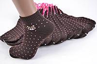 Женские носки заниженые с узором (TKB30/23) | 12 пар