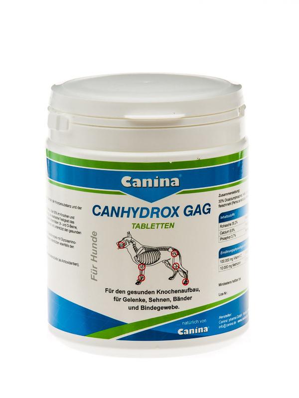 Canina Petvital Canhydrox GAG 60шт-препарат стимулирующий рост и формирование костей, суставов (123490)