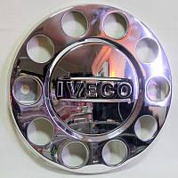 Колпак декоративный колеса метал. Iveco хром.