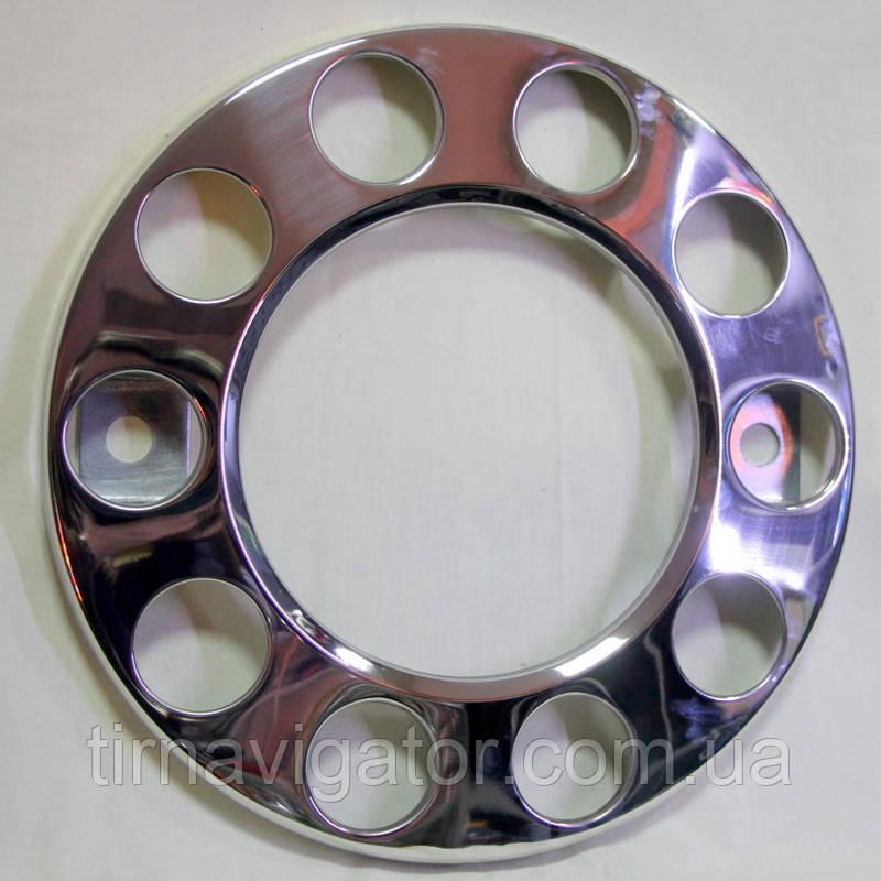 Ковпак колеса декоративний метал. хром.