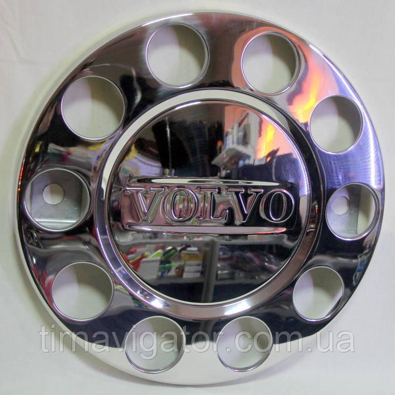 Колпак декоративный колеса метал. VOLVO хром.