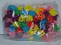 Крабики ромашка цветные маленькие