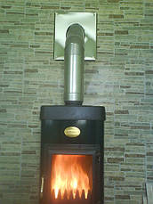 Труба для дымохода 1 метр 0,5 мм AISI 304, фото 3