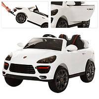 Детский электромобиль PORSCHE MACAN M 3191 EBLR-1: 2,4G, 90W, EVA+кожа-Белый-купить оптом , фото 1