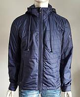 Мужская куртка с наушниками Black Vinyl ТС17-818, фото 1