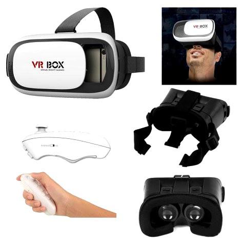 Очки виртуальной реальности VR BOX 2.0 PRO 3D c пултом