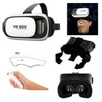 Очки виртуальной реальности VR BOX 2.0 PRO 3D c пултом, фото 1