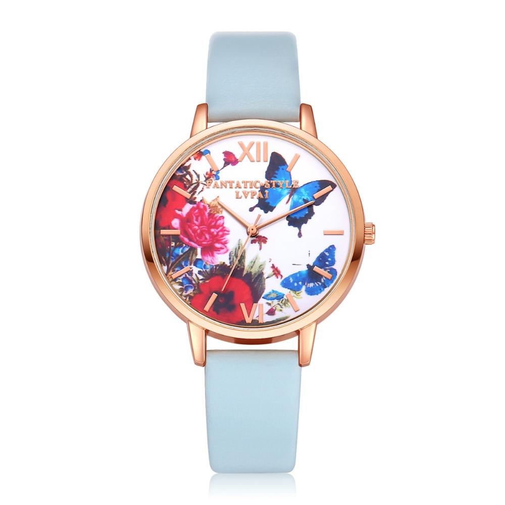 Женские часы с бабочками