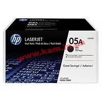Картридж HP LJ 05A P2035/ P2055d/ 2055dn DUAL PACK (CE505D)