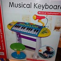 Детское пианино с музыкальными эффектами для мальчиков
