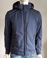 Весенняя мужская куртка Black Vinyl (БАТАЛ) BТС17-830, фото 1