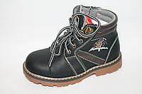 Детские демисезонные ботинки для мальчиков оптом фирмы. Y.Top CF849-6 (8пар 27-32)