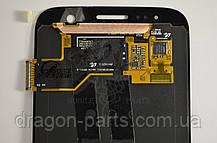 Дисплей Samsung G930 Galaxy S7 з сенсором Silver Срібний оригінал , GH97-18523B, фото 3