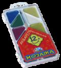 "Акварель ""Гамма-Н"" 12 цветов №312054 ""Мозаика"""
