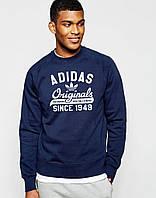 Мужской СВИТШОТ adidas Originals (адидас Оригинал Темно-синий) Navy 🔥
