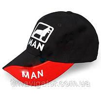 Кепка автомобильная MAN с вышивкой