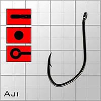 Крючки metsui AJI цвет bln, размер № 4, в уп. 12 шт.
