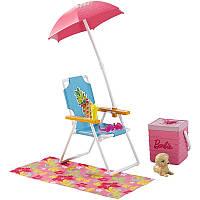 Barbie Мебель для кукол Отдых на природе Пикник / Barbie Doll & Picnic Playset