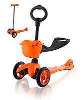 Самокат Eco-line SADDLER оранжевый