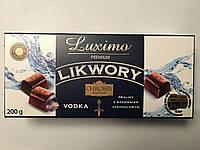 Шоколадные конфеты Luxima Premium Likwory vodka 200 г (Польша), фото 1